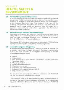templates health and safety plan templatepetronas health With environmental health and safety plan template