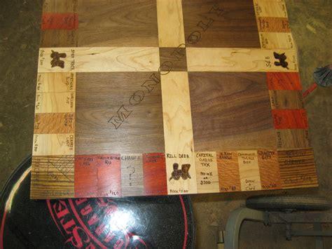 monopoly board  crazywood  lumberjockscom