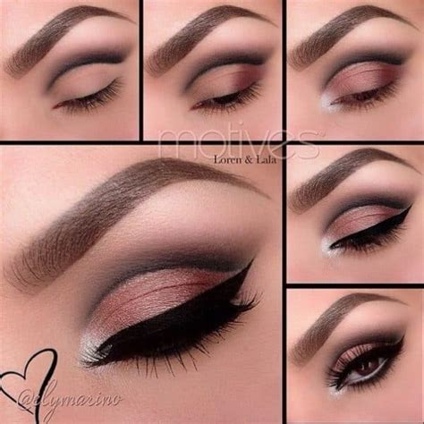 gorgeous step  step makeup tutorials     shine   holidays