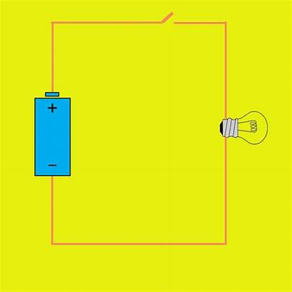 Circuit Electric Animated Flow Creating