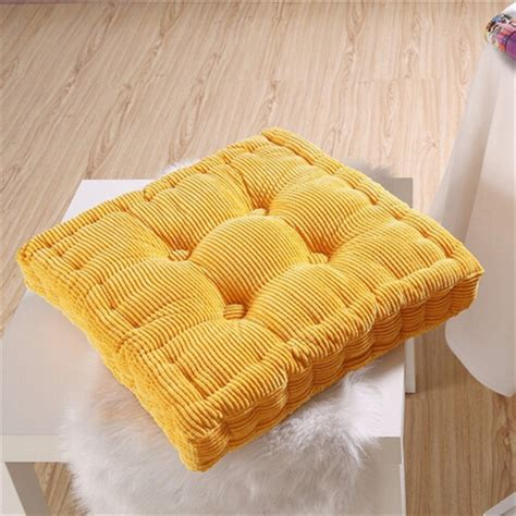 thick corduroy elastic chair cushions for kitchen chair