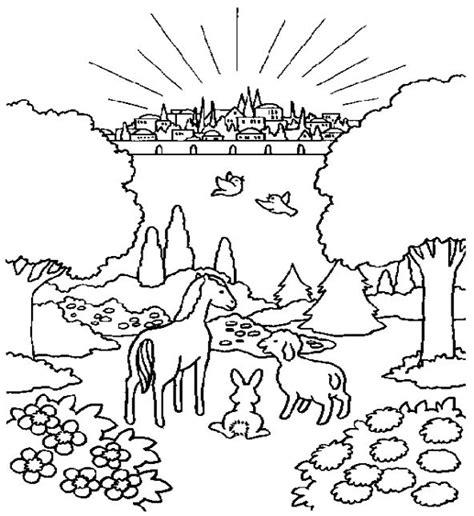 city  god coloring page fall  discipleland