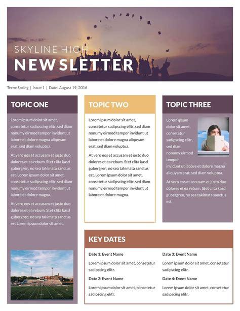 google newsletter newsletter template best business template