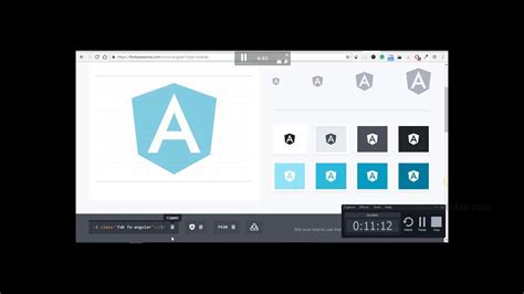 With way more on the way! Include Font Awesome in Angular 6 - YouTube