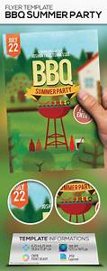 Bbq Summer Party Flyer Template  Design Download