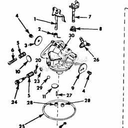 Cub Cadet Carburetor Diagram