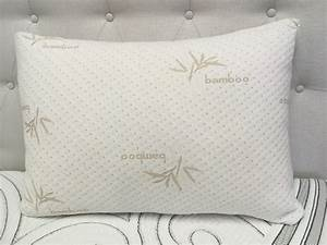 eco friendly bamboo memory foam pillow the sleepfactory With are memory foam pillows worth it