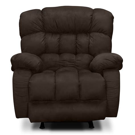 Recliner Rockers Chairs by Sonic Rocker Recliner Brown Value City Furniture