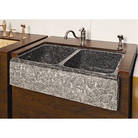 farm charm    double bowl farmhouse granite kitchen