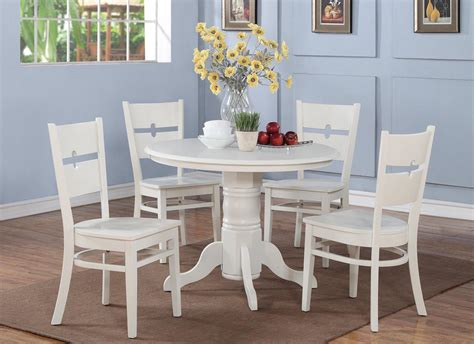white kitchen furniture sets 5 pc shelton 42 in kitchen dinette table 4 chairs