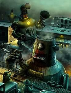 Retro Robots by Hofarts on DeviantArt