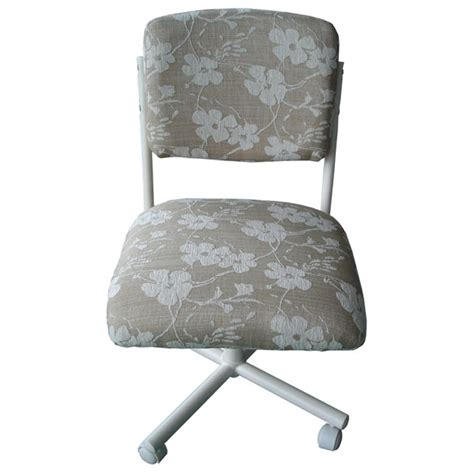 upholstered floral pattern side chair dcg stores