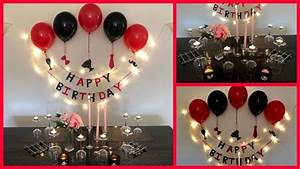 Easy, Surprise, Birthday, Decoration, For, Husband