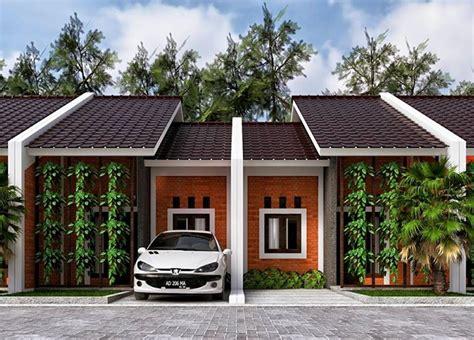 desain rumah satu lantai atap pelana minimalis diatas