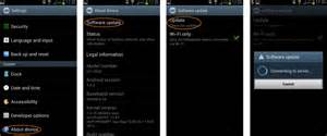 android software update how to update your samsung galaxy s3 software and s3 mini