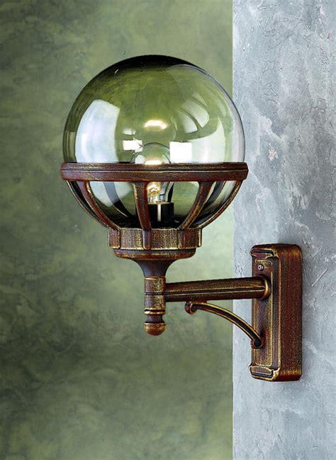 wall globe lantern contemporary outdoor lighting