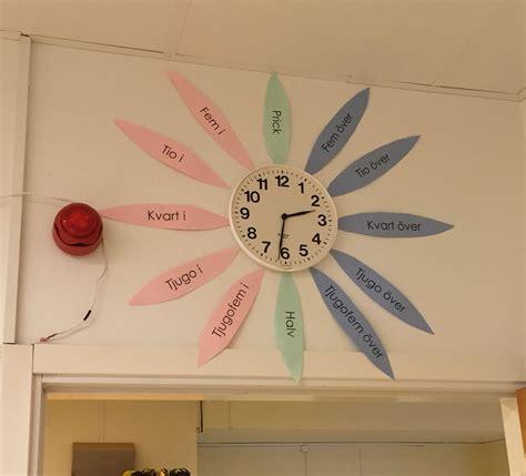 pedagogisk klocka skol  fritidstips pinterest