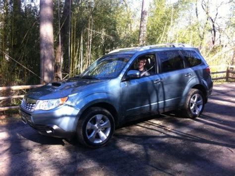subaru forester touring xt buy used 2012 subaru forester xt touring wagon 4 door 2 5l