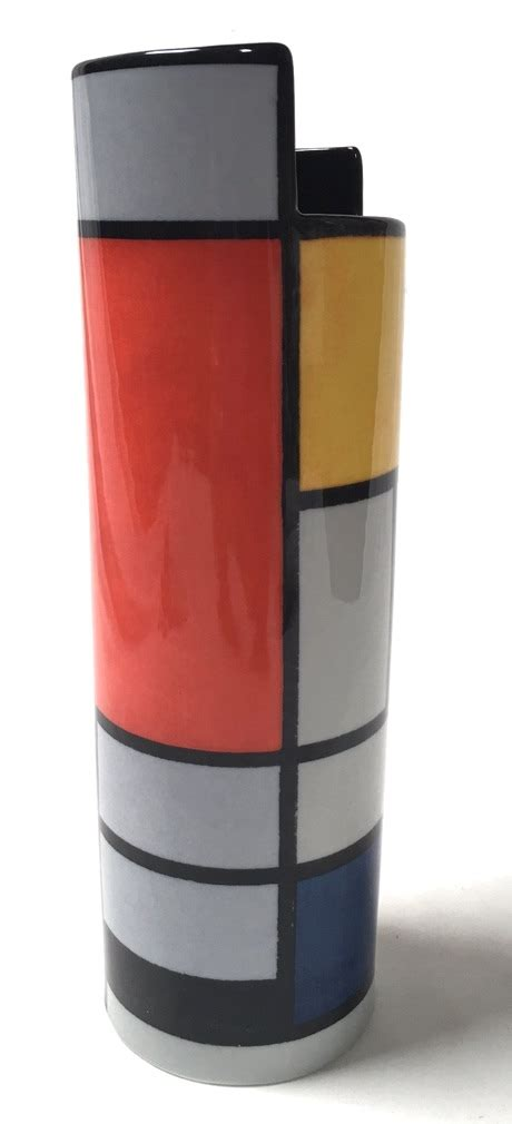 Mondrian Vase by Mondrian Flower Vase Museum Gifts Wholesale Supplier