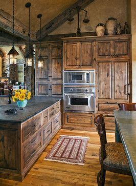 knotty alder kitchen cabinets shaker style design ideas pictures remodel and decor page 8