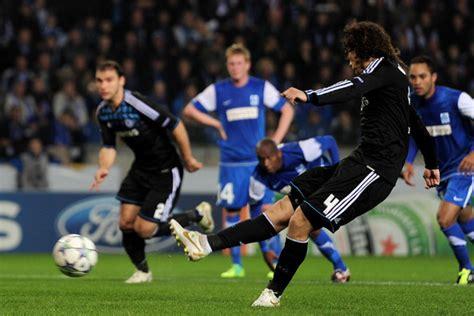 David Luiz Photos Photos  Krc Genk V Chelsea Fc Uefa