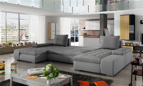 Wohnzimmer U Form by Wohnlandschaft Wohnzimmer Leder Sofa Polster Sitz