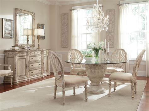 Round Glass Dining Room Sets Inspiring With Photos Of