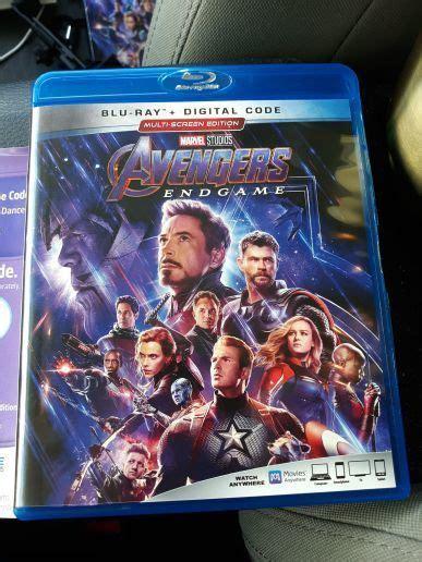 Free: Marvel Avengers Endgame Digital Download #2 - Blu ...