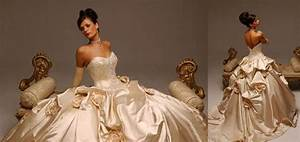 Beautiful Wedding Dresses Champagne Color Images - Styles ...
