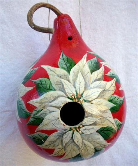 christmas gourd make one yourself craft ideas pinterest