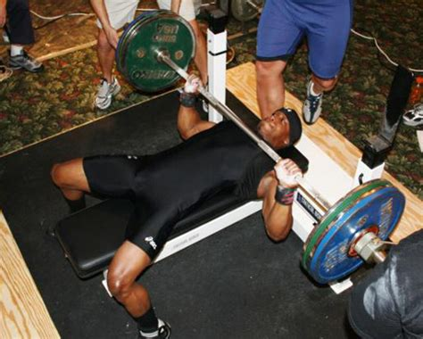 Claude Boyer Can Bench Press 400 Pounds Weighing 165