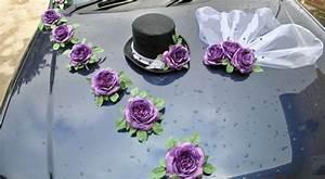 voiture de mariage decoration 2014 5 deco With tapis chambre bébé avec bouquet de fleurs original pour anniversaire