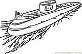 Submarine Coloring Pages Boot Navy Ship Ausmalbilder Ausmalbild Zum Kostenlos Water Transport Boat Printable Boats Anchor Sheets Drawing Cruise Transportation sketch template