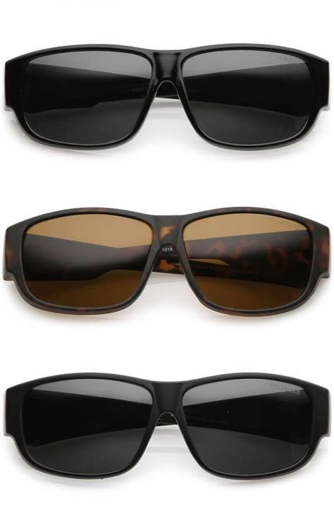 thick frame square sunglasses thick frame wide arms square polarized lens horn rimmed sunglasses 57mm
