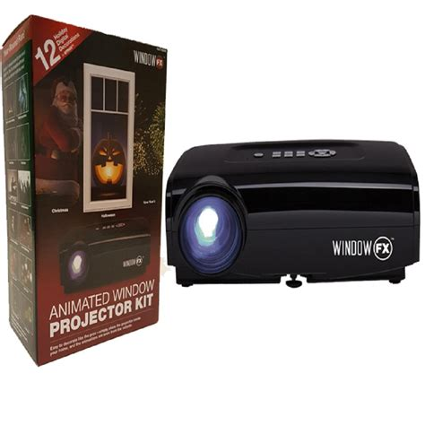 seasonal window fx projector animated window display kit