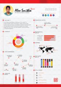 resume infographic template free top 5 infographic resume templates