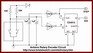 Rotary Encoder With D Flip