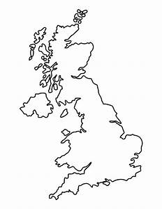 United Kingdom Pattern  Use The Printable Outline For