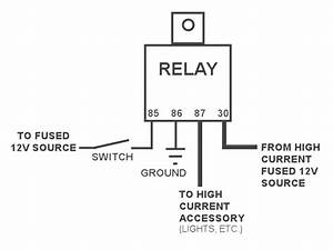 12v Relay Wiring Diagram 5 Pin