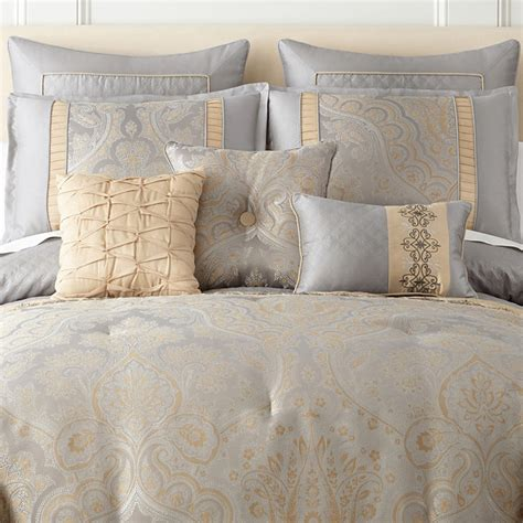 home expressions carlisle 7 pc comforter set jcpenney