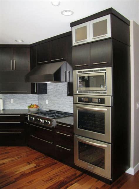 tv encastrable cuisine meuble cuisine avec four encastrable mobilier design