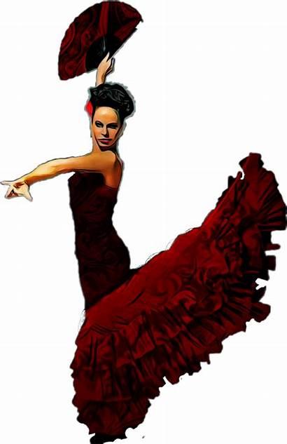 Dancer Flamenco Clipart Transparent Sticker Webstockreview Report