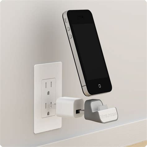 iphone wall mount minidock wall mounted iphone charger