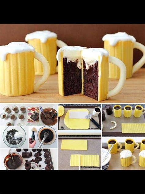 tutorial de tarta  forma de jarra de cerveza tortas