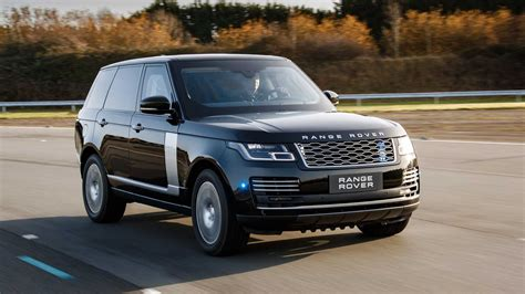 updated land rover range rover sentinel adds power to armored suv