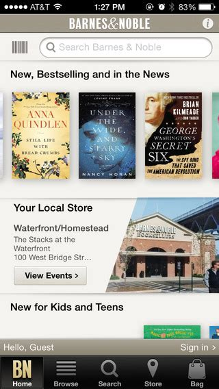 barnes and noble application barnes noble on the app on itunes