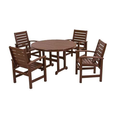 hanover siesta key 5 all weather patio dining set