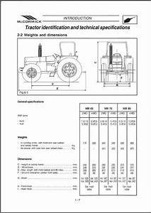 Mccormick Mb Series   65 75 85   Tractors Service Manual
