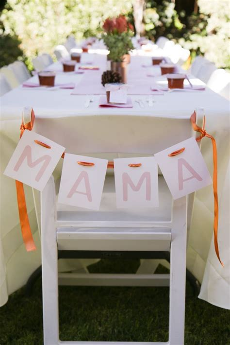 110 Best Mothers Chair Baby Shower Images On Pinterest