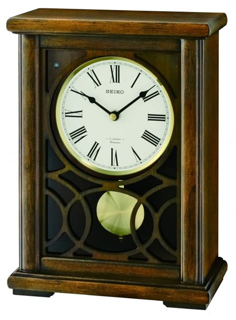 battery operated mantel clocks albany mantel clock by seiko battery operated quot chiming quot 4349